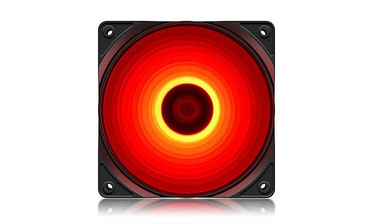 FAN Deepcool RF120R, Led Vermelho 120mm (DP-FLED-RF120-RD)