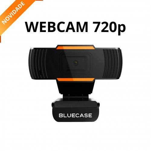 Webcam Bluecase HD 720p Preta (BWEB720P-01)