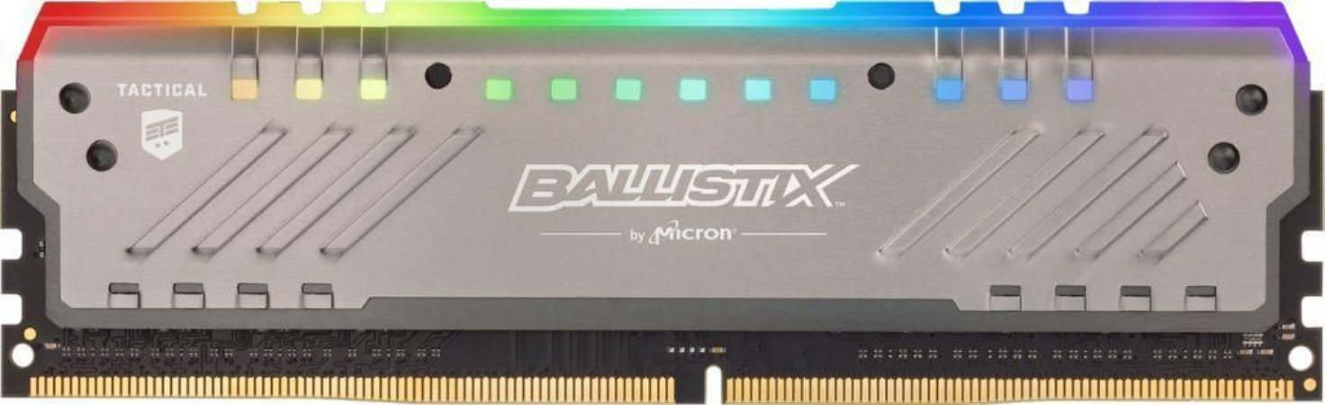 Crucial Ballistix Tactical Tracer RGB 8GB 288-Pin CL15 DDR4 3000MHz (PC4 24000) (BLT8G4D30AET4K)