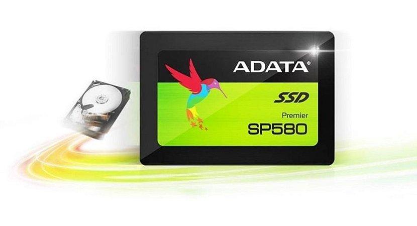 """SSD Adata Premier SP580, 240GB, 2.5"""" SLC 3D NAND Sata III (ASP580SS-240GM)"""