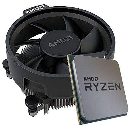 AMD RYZEN 3 3200G 4-Core 3.6 GHz (4.0 GHz Max Boost) Socket AM4 65W (Sem caixa comercial) (YD3200C5FHMPK)