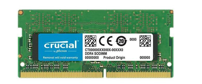 Memória Note Crucial 8GB DDR4 2666 (PC4 21300) 204-Pin SO-DIMM (CT8G4SFS8266)