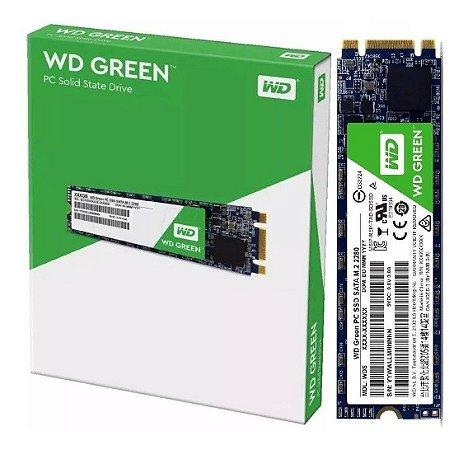 SSD WD Green M.2 2280 480GB SATA III 6Gb/s (WDS480G2G0B)