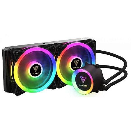 Water Cooler Gamdias Chione M2-240 Lite ARGB, 240mm Intel-AMD