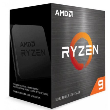 AMD Ryzen 9 5900X 3.8GHz (4.7GHz Max Turbo) Cache 70MB AM4 S/ Cooler S/ Vídeo (100-100000061WOF)