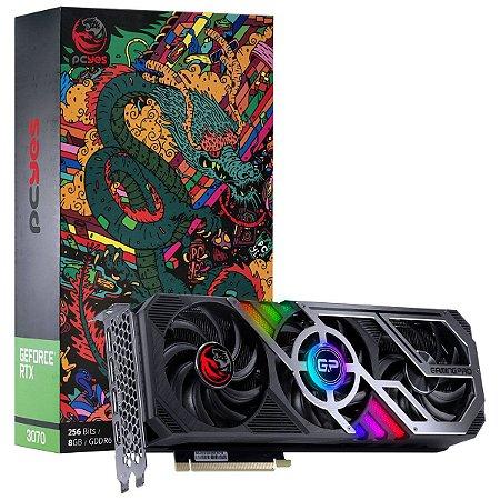 PCYES Nvidia Geforce GRAFFITI SERIES RTX 3070 Gaming PRO 8gb GDDR6 256 Bits (PP3070GP8DR6256)