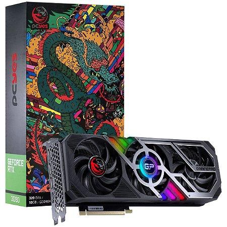 PCYES Nvidia Geforce GRAFFITI SERIES RTX 3080 Gaming PRO 10gb GDDR6X 320 Bits (PP3080GP10DR6320)
