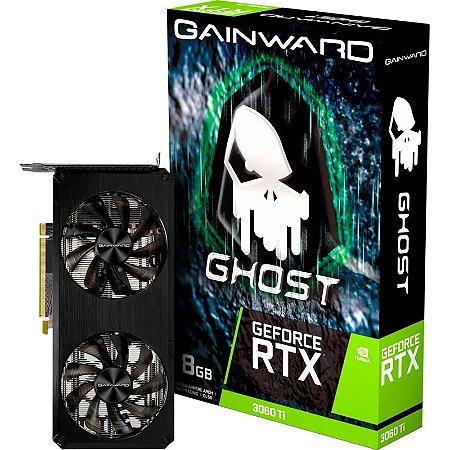 Gainward GeForce RTX 3060 Ti Ghost 8GB GDDR6 256BITS (NE6306T019P2-190AB)