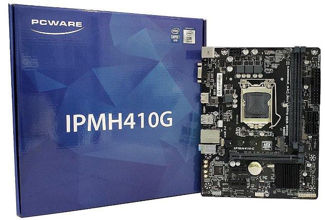 Pcware (Gigabyte) IPMH410G DDR4 Intel LGA1200 10GER. mATX
