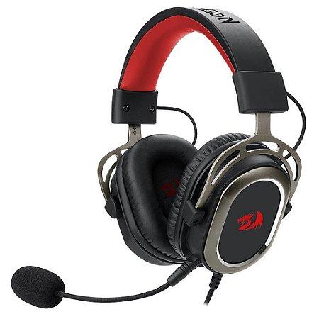 Headset Gamer Redragon Helios, 7.1 Surround, Drivres 50mm (H710)
