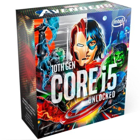 Intel Core i5-10600K Marvel´s Avengers Collector´s Edition Cache 12MB, 4.1GHz (4.8GHz Max Turbo), LGA1200 (BX8070110600KA)