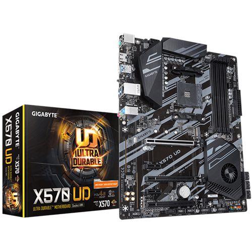 Gigabyte X570 UD AM4 DDR4 PCIe 4.0 SATA 6Gb/s USB 3.2 AMD X570 ATX