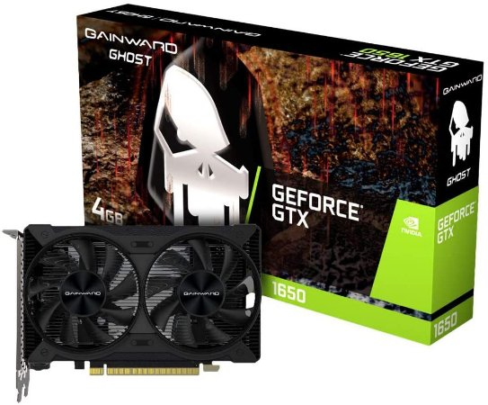 Gainward GeForce GTX 1650 Ghost, 4GB, GDDR6, 128bit (NE6165001BG1-1175D)