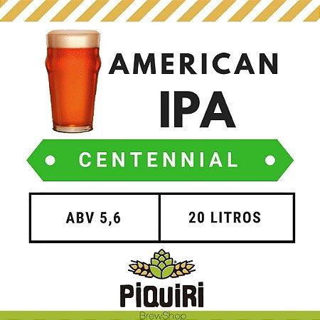 Kit receitas cerveja artesanal 20L American IPA Centennial