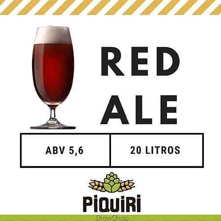 Kit receitas cerveja artesanal 20L Red Ale