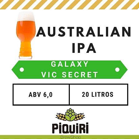 Kit receitas cerveja artesanal 20L Australian IPA