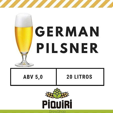 Kit receitas cerveja artesanal  20L German Pilsner