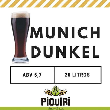 Kit receitas cerveja artesanal 20L Munich Dunkel