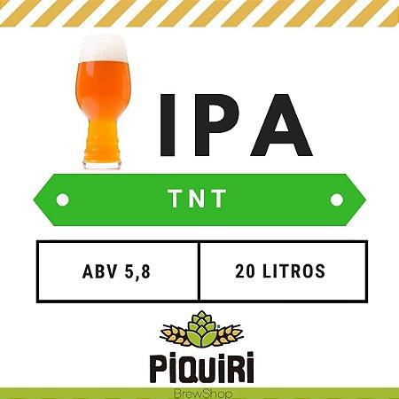 Kit receitas cerveja artesanal 20L TNT IPA