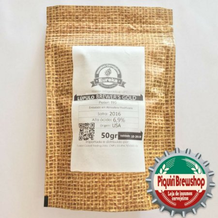 Lúpulo US Brewers Gold - 50g (pellets)
