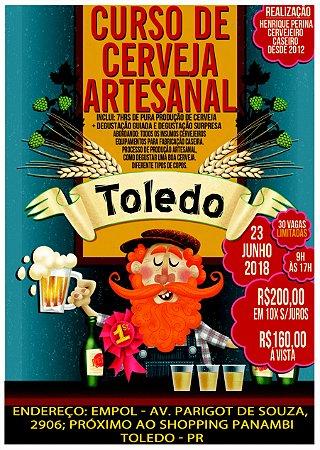 Curso de cerveja artesanal - Turma 25/08/2018