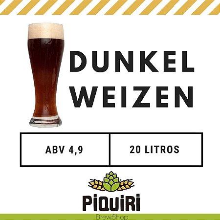 Kit receitas cerveja artesanal 20L Dunkelweizen