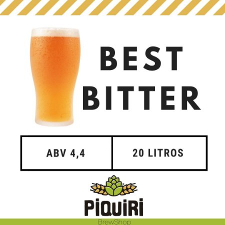 Kit receitas cerveja artesanal 20L Best Bitter