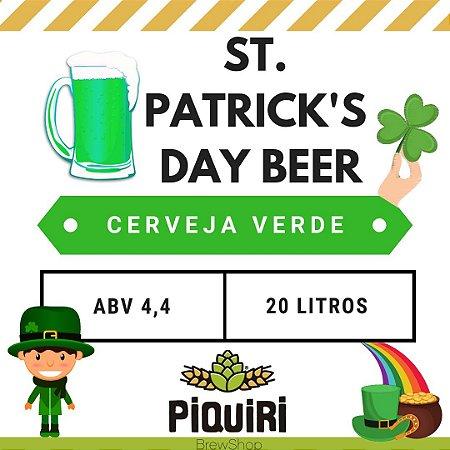 Kit receitas cerveja artesanal 20L St Patrick's Beer