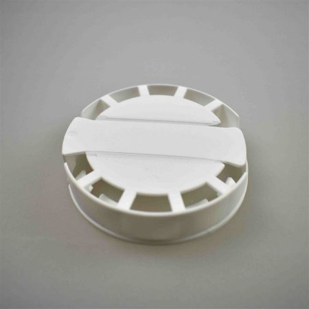 Lacre Plástico de Segurança para Barril Inox Tipo S - Branco - 10 Und