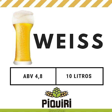 Kit receitas cerveja artesanal 10L Weiss