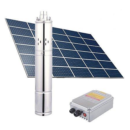 BOMBA SOLAR - KIT COMPLETO 1300W - 10.000l/h - 90m -72V