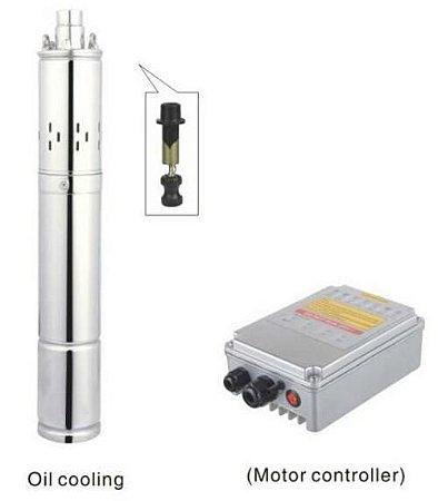 Bomba Solar 1500l/h - 95m 270w