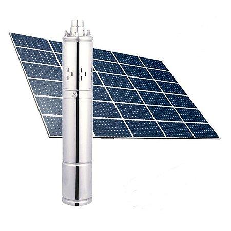 Bomba Solar - Kit Completo Bomba E Painel 210w 80m 24v