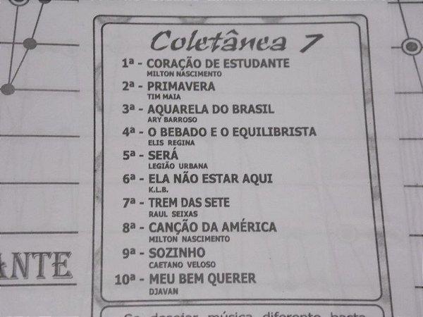 COLETÂNEA 07 COM 10 PARTITURAS PARA CÍTARA MINI HARPA