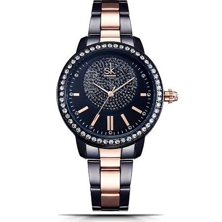 Relógio Feminino Shengke Bright