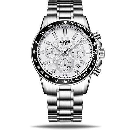Relógio masculino Lige Steel