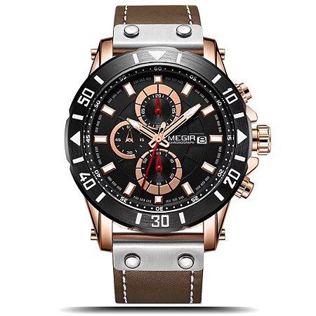 Relógio masculino Megir Forest
