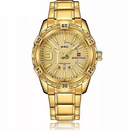 Relógio Masculino Naviforce Copper