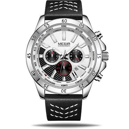 Relógio masculino Megir Lander