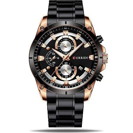 Relógio masculino Curren Dark