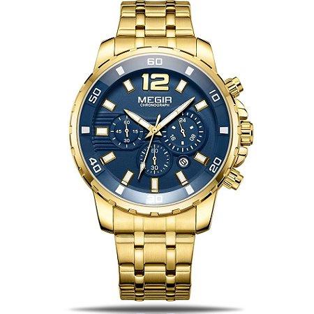 Relógio masculino Megir Cloudy