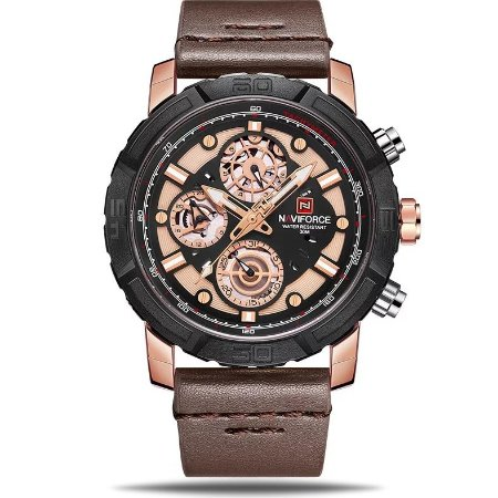 Relógio masculino NaviForce Jupter