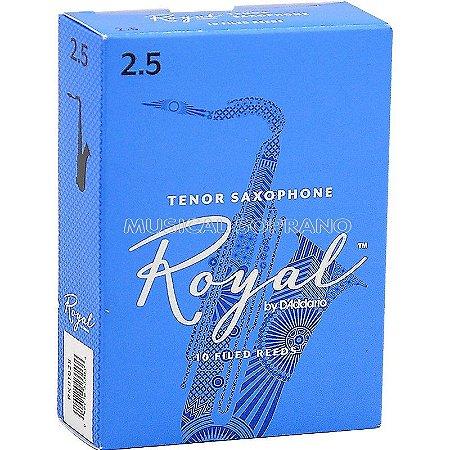 Palhetas Royal para sax tenor (caixa com 10)