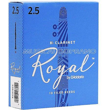 Palhetas Royal para clarineta (caixa com 10)