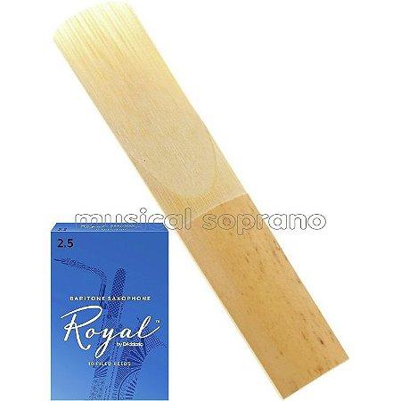 Palheta Royal para sax barítono