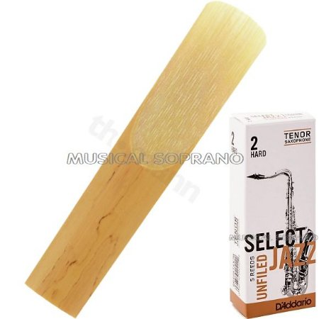 Palheta Select jazz - Unfiled - para sax tenor