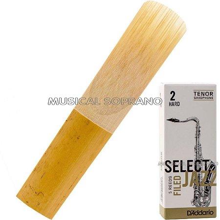 Palheta Select jazz - Filed - para sax tenor