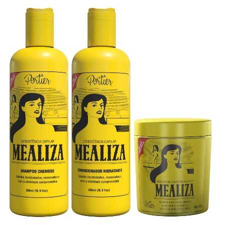 Portier Mealiza Kit Trio Completo (3 produtos)