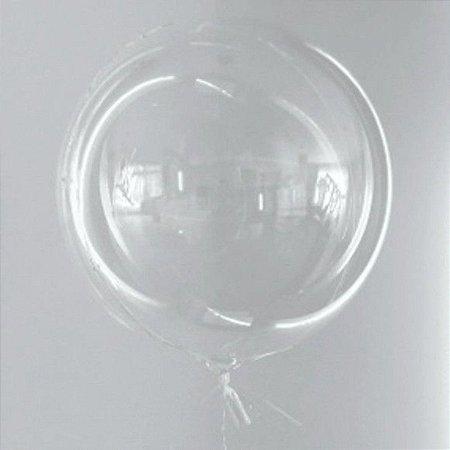 """Balões bubble 18"""" com 50 unidades"""