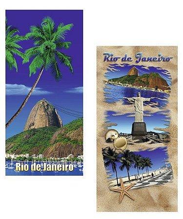 Duas Toalhas de Praia Kit Rio